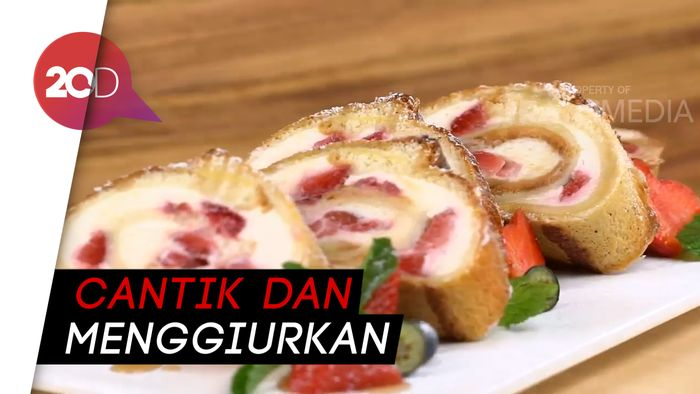 Resep Membuat Cheesecake Strawberry French Toast