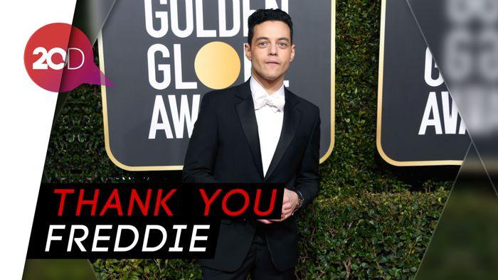 Sukses Jadi Freddie Mercury, Rami Malek Aktor Terbaik Golden Globe 2019