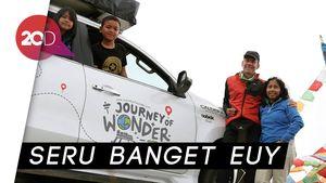Goks! Keluarga Indonesia Ini Keliling Dunia Naik Mobil