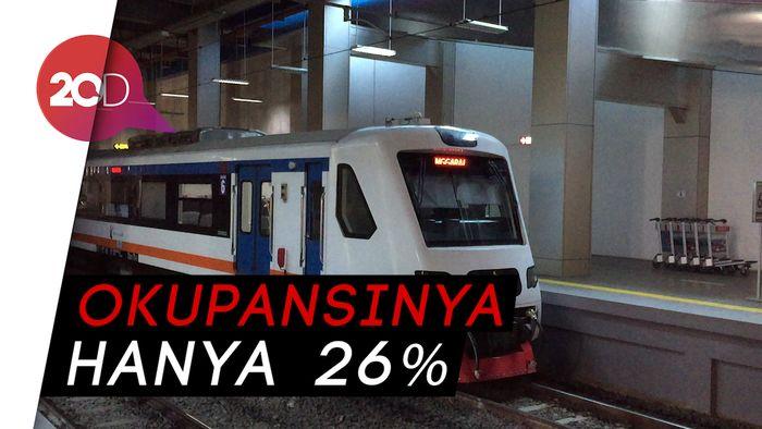 Setahun Beroperasi, Kereta Bandara Soetta Sepi Peminat