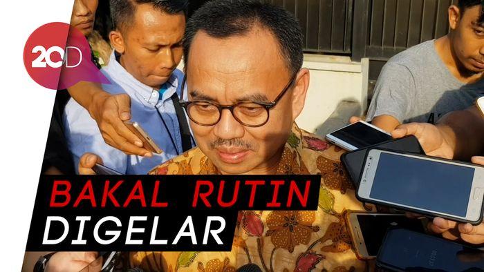 Temui SBY, Prabowo Minta Masukan Jelang Debat Pilpres