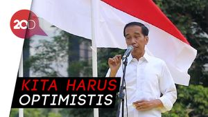 Jokowi Jengkel dengan Orang yang Sebut Indonesia Punah!