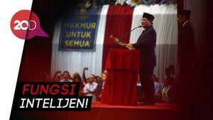 Prabowo: Intelijen Itu Intelin Musuh Negara, Jangan Ulama