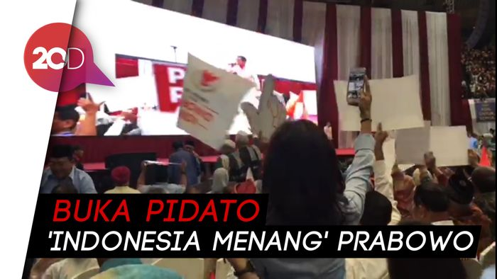Lagu 2019 Ganti Presiden dan Sontoloyo Menggema di JCC