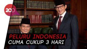 Prabowo: 10 Tahun Indonesia Sudah Setengah Mati