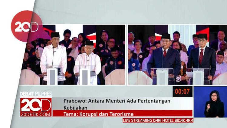 Serangan Jokowi ke Prabowo soal Caleg Gerindra Eks Napi Korupsi