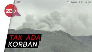 Gunung Berapi di Pulau Terpencil Jepang Meletus!