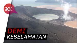 Badan Geologi Melarang Pendakian ke Gunung Anak Krakatau