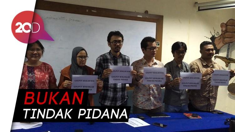 Koalisi Masyarakat sipil Tegaskan Golput Hak Ekspresi Politik yang Sah