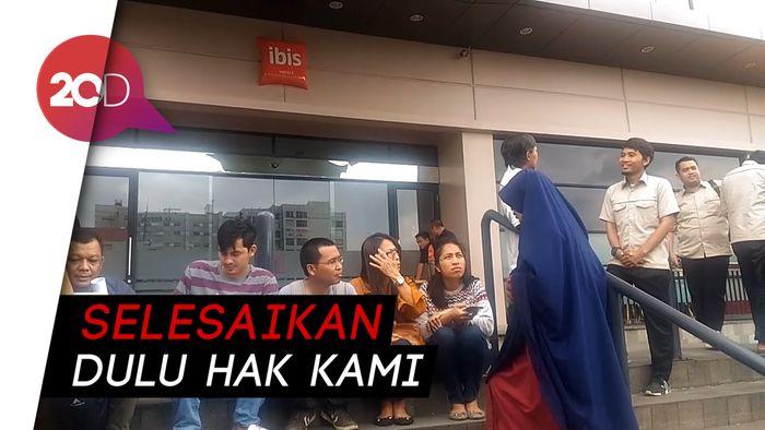 Lion Air Usir Keluarga Korban Lion Air PK-LQP dari Hotel