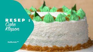 Resep Cake Klepon
