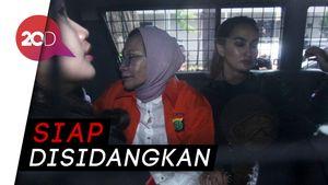 Ditemani Atiqah, Ratna Sarumpaet Diserahkan ke Kejari Jaksel