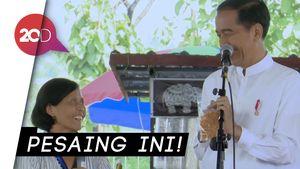 Bertemu Penjual Kopi di Magetan, Jokowi: Saingan Sama Anak Saya