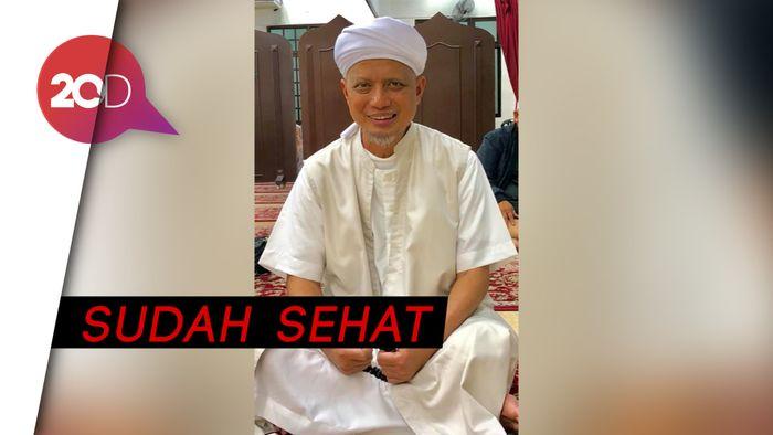 Momen Kepulangan Ustaz Arifin Ilham ke Indonesia