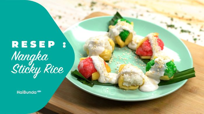 Resep Nangka Sticky Rice