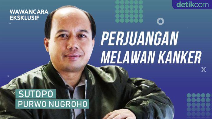 Eksklusif! Perjuangan Sutopo Melawan Kanker Paru Stadium 4B
