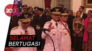 Sah! Jokowi Lantik Khofifah-Emil jadi Gubernur dan Wagub Jatim