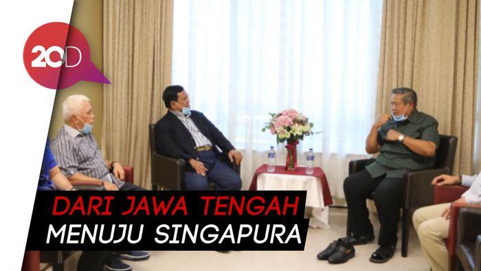 Jenguk Bu Ani di Singapura, Prabowo Disambut Mantan di RS