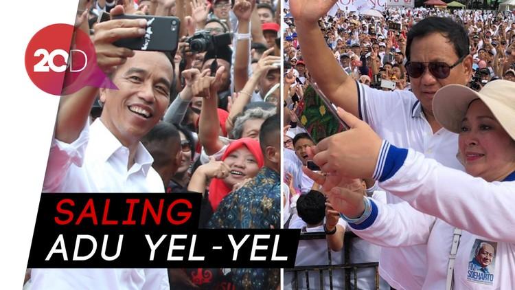Ketika Emak-emak Jokowi dan Prabowo Tawuran di Mall