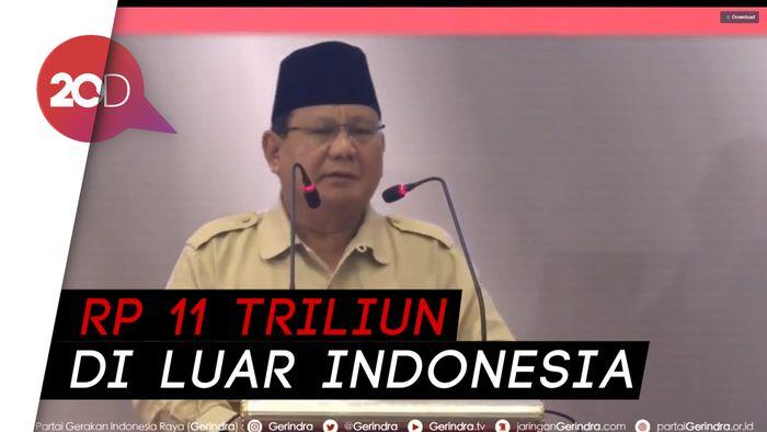 Pidato Kebangsaan Prabowo Bicara Indonesia ke Arah Keterpurukan