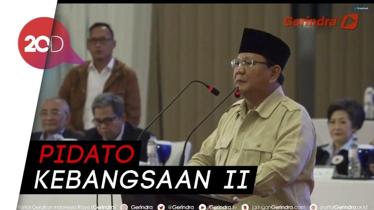 Prabowo Bicara Komponen-komponen Negara Berdaulat
