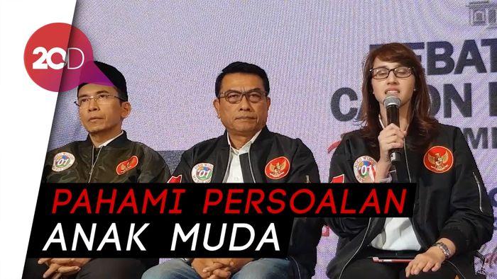 Bangganya Tsamara saat Jokowi Bahas Startup Unicorn
