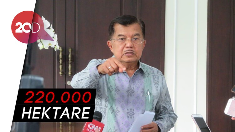 Soal Lahan Prabowo di Kalimantan, JK: Saya yang Kasih