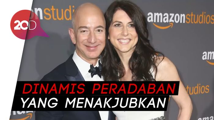 Ambisi Pendiri Amazon Buat Pemukiman 1 Triliun Manusia di Angkasa