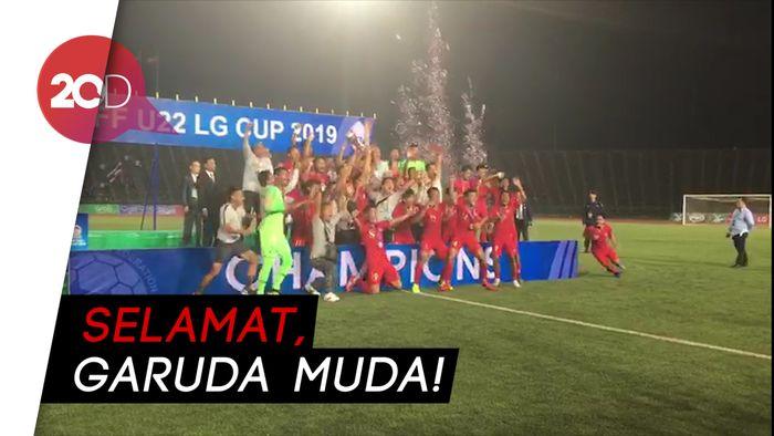 Selamat! Indonesia Juarai Piala AFF U-22 2019