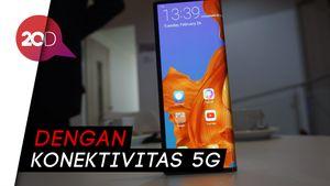 Mate X, Ponsel Layar Lipat Huawei Seharga Rp 36,6 Juta