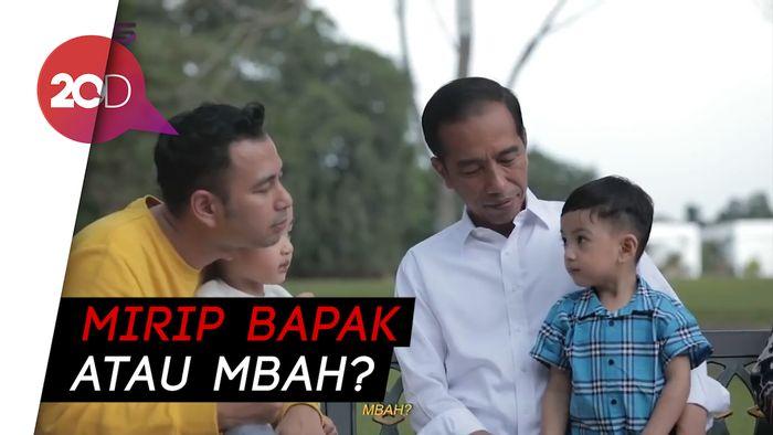 Ekspresi Gibran saat Jan Ethes Merasa Lebih Mirip Jokowi