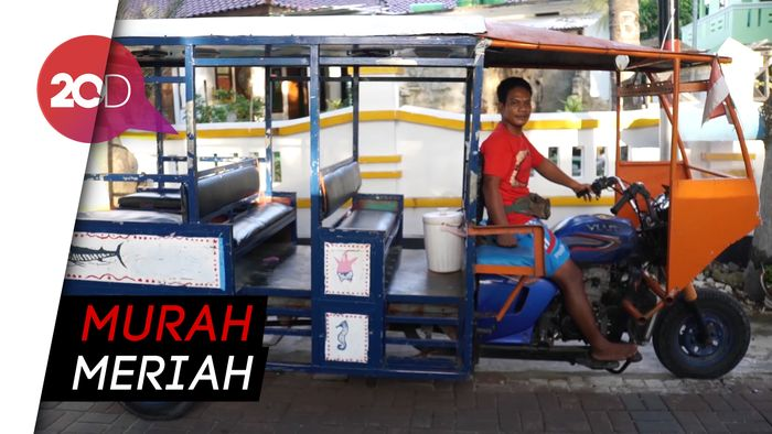 Odong-odong, Satu-satunya Transportasi Umum Pulau Pramuka
