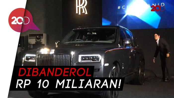 Cullinan, SUV Miliaran Rolls-Royce Resmi Mengaspal di Indonesia