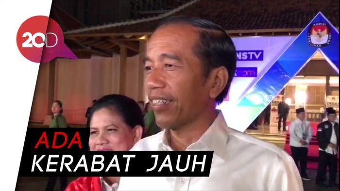 Jokowi Mendadak Pergi Sebelum Debat Cawapres Mulai