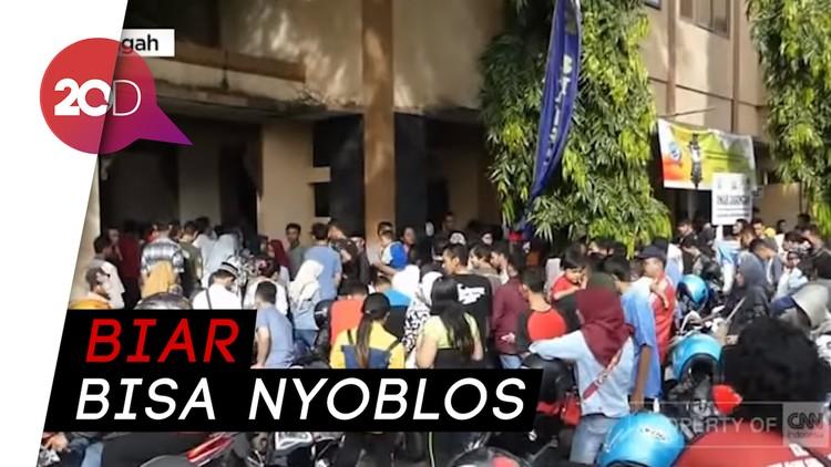 Demi Bisa Nyoblos di Pemilu 2019, Warga Jepara Antre Rekam e-KTP