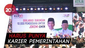 Jokowi Bicara soal Pemimpin: Jangan Diberikan yang Coba-coba