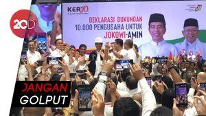 Jokowi Minta Pengusaha Nyoblos Sebelum Libur Panjang
