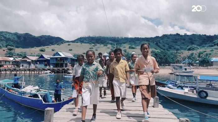 Langit Mimpi dari Pulau Komodo