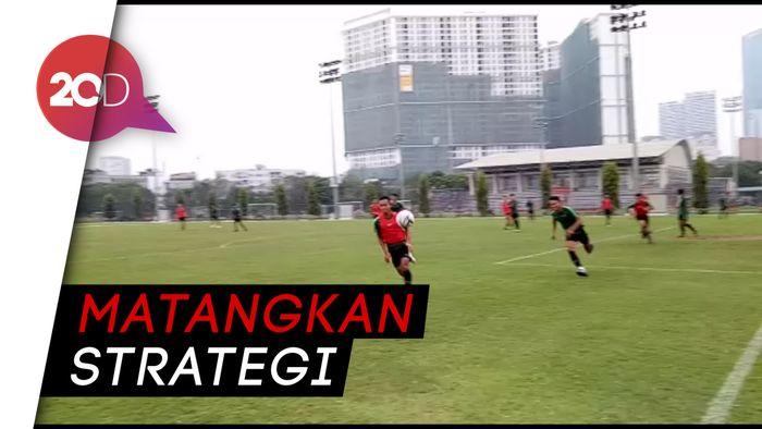 Garuda Muda Gelar Latihan Jelang Laga Akhir Lawan Brunei