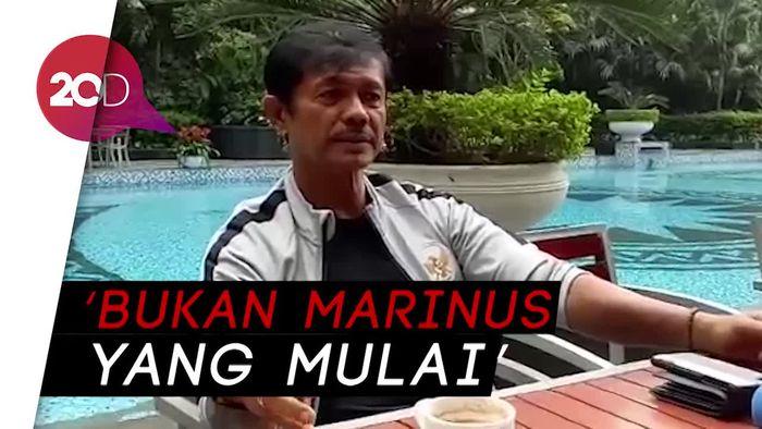 Penjelasan Indra Sjafri soal Insiden Marinus Vs Pemain Vietnam