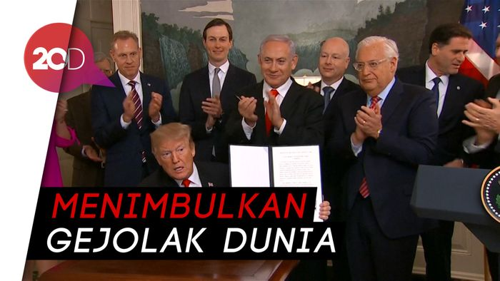 Erdogan: Soal Dataran Tinggi Golan, Trump Buat Ketegangan Baru