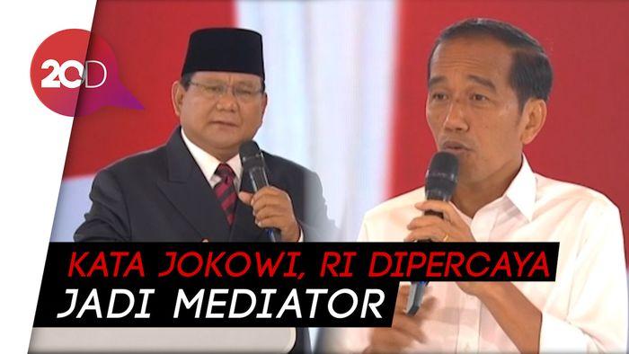 Jokowi Tanya soal Konflik Myanmar, Prabowo: Tak Cukup Jadi Nice Guy