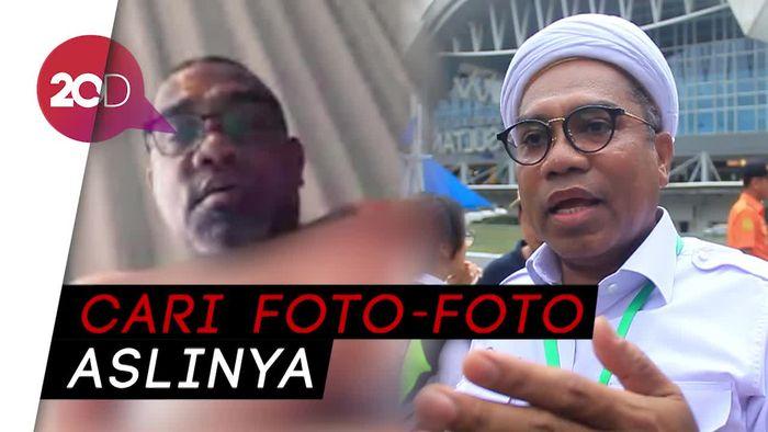 Ramai di Medsos Foto Mirip Ngabalin Berpose Setengah Bugil