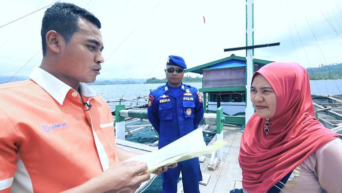 Arungi Lautan, Mantri BRI Layani Nasabah di Halmahera Selatan