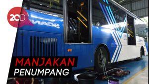 Pemprov DKI Sediakan Bus Pengumpan dari Kantong Parkir ke Stasiun MRT