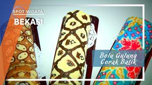 Bolu Gulung Corak Batik Bekasi