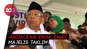Maruf Amin Optimistis Raup 60% Suara di Jakarta