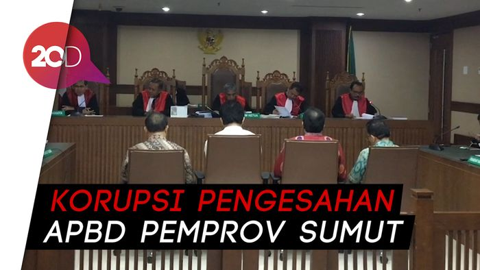 Terima Uang 'Ketok Palu', 2 Eks Anggota DPRD Sumut Divonis 6 Tahun Bui