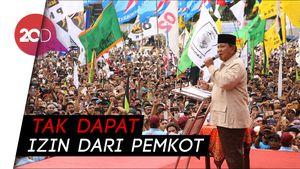 Prabowo Curhat Gagal Kampanye di Semarang, Bandingkan dengan Era SBY