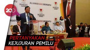 Prabowo: Pemilu Belum Mulai Sudah Ada yang Nyoblos-nyoblos!